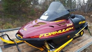 Skidoo Formula Deluxe 583 Great Trail Sled