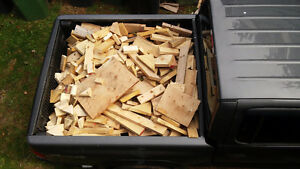 Box full of firewood