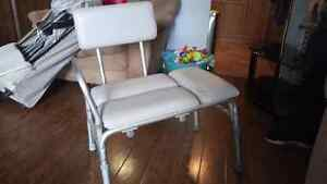 Shower assistance chair London Ontario image 1