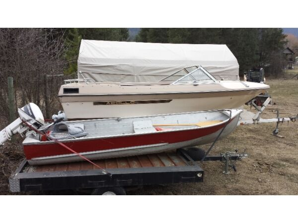 Alumacraft boat co red for sale canada for 12 foot fishing boat