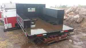 Excellent Condition 11ft Steel Flat Deck off Southern Truck