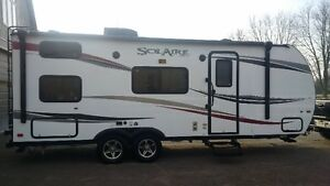 solaire 209bh travel trailer