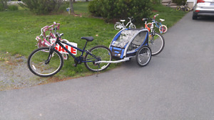 Mtn. Bike and trailer