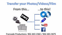 Video Conversions/Transfers/Duplications Services