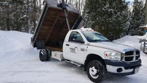 2008 dodge 3500 2x4 dump truck