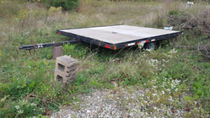 Flat Bed trailer 8'x10