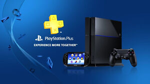 Playstation Plus 8-12 Month/Mois