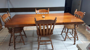 Dining Room Table and Chairs, TV Stand