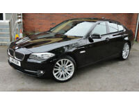 2011 BMW 520 2.0TD AUTO SE FULL SH +NAV+HEATED LEATHER STUNNING CAR!