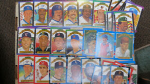 1987,88,89,90 Donruss Diamond Kings(42)