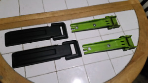 Jeep Jk Wrangler OEM tailgate hinges and hinge covers