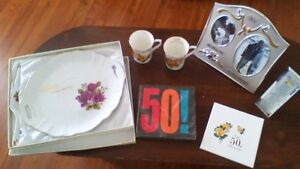 50th Wedding Anniversary Party Items