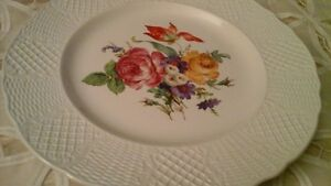 """CHINA PLATE """"OLD ENGLISH""""  MALBOROUGH, MADE IN ENGLAND"""