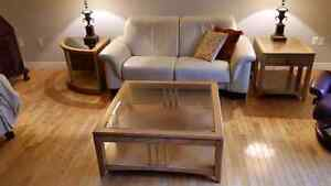 Coffe table and end tables