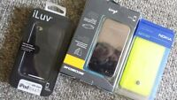Brand new cellphone accessories and cell phones