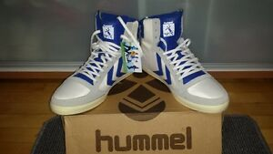 """HUMMEL"" SZ 13 BASKETBALL HIGHTOPS (NEW IN BOX) ONLY $40.00"