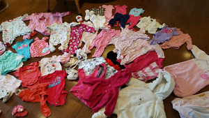 Baby girl clothes NB-6 months