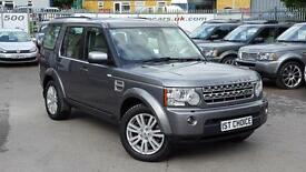 2010 LAND ROVER DISCOVERY 4 TDV6 HSE FANTASTIC STORNOWAY GREY WITH FULL LEAT