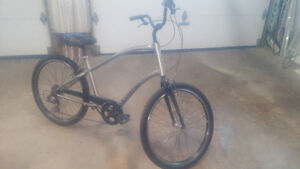 Townie cruiser bike