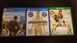 PS4 and Xbox 1 games