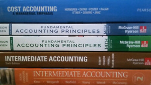 Accounting/Business/Management Textbooks- St. Clair College