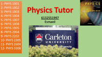 Tutor for University Physics (Carleton University)
