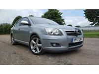2007 TOYOTA AVENSIIS 2.2D-4D MANUAL DIESEL HATCHBACK 5 DOOR HATCHBACK