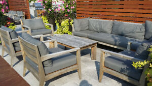 Used ARD Outdoor teak patio furniture
