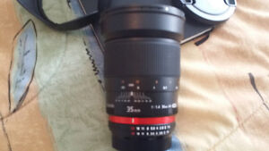 Rokinon 35 mm f/1.4 UMC Lens For Nikon With Automatic AE Chip wi Windsor Region Ontario image 4