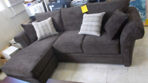 Beautiful New sectional. Brown in color. Sale price $1199. Wyse