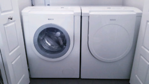Bosch HE front loader washer and dryer