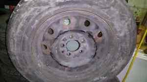 Dodge caravan rims and tires