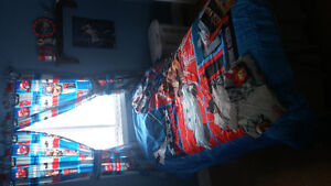 Cars themed bedding group