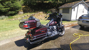 """06' HARLEY ULTRA CLASSIC 95"""" WITH STAGE 4 UPGRADE FOR TRADE"""