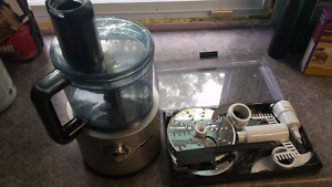 Morphy Richards Food Processor with all the attachments