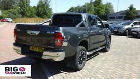 2017 TOYOTA HI-LUX INVINCIBLE X 4WD D-4D 150 DOUBLE CAB PICK UP DIESEL