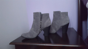 Grey boots (never worn)