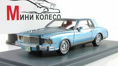 Scale model car 1:43 CHEVROLET Monte Carlo Blue / Blue Metallic 1978
