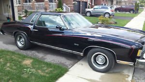 1975 Monte Carlo for sale!