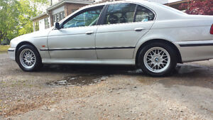 """15"""" oem bmw bbs style rims with tires"""