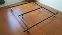 Queen Mattress Frame with Free Box