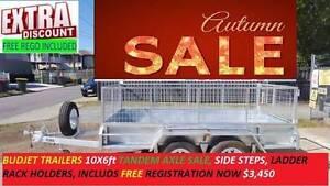 10×6 BOX TRAILER Tandem 10x6 ft $3450 SALE FREE 12Mths REGO 21# Ipswich Ipswich City Preview