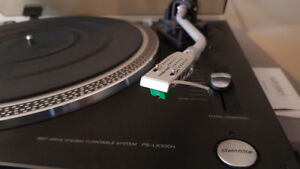 Sony PS-LX300H turntable with new Audio-Technica AT-95e c