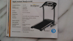 tapis roulant d' exercices