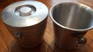 Antiques Aluminium ice bucket London Ontario image 1