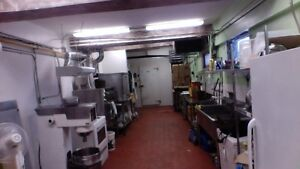 Catering, bakery food space