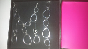 Necklace set new in box never opened
