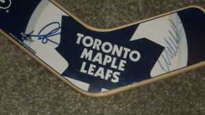 D. SITTLER and W. CLARK AUTOGRAPED MINI- STICK
