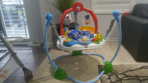 Fisherprice jumperoo laugh and learn