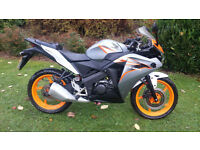 Honda CBR 125 PX Swap UK Delivery Learner legal